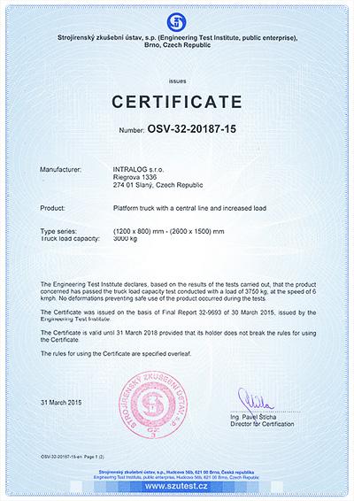 Certifikace středová osa nosnost 3000 kg Griller-3