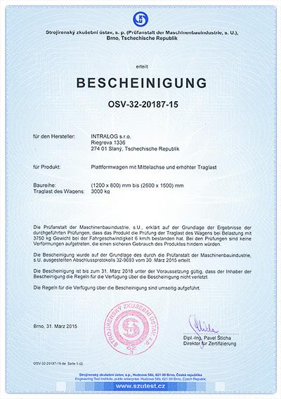 Certifikace středová osa nosnost 3000 kg Griller-4